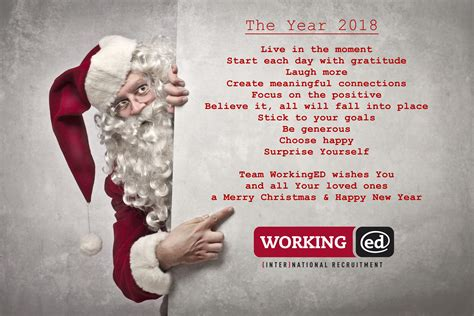 team workinged wishes   merry christmas happy  year working ed