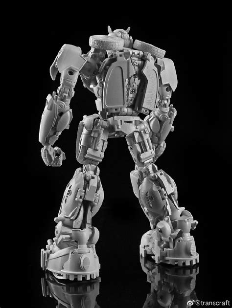 Trans Craft TC-02 Bumblebee Movie Bumblebee Gray Prototype