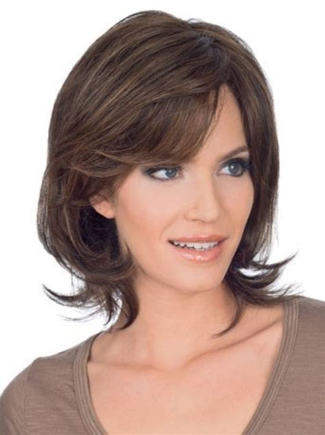 shag haircuts for heartshape faces 15 classy easy medium hairstyles for heart shaped faces