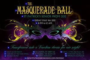Masquerade Poster Template by Masquerade Poster Ticketprinting