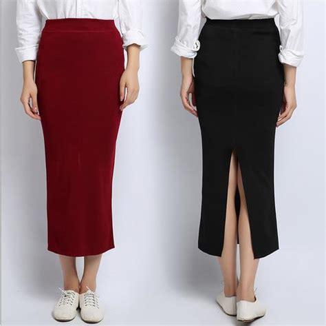 ankle length black pencil skirt fashion skirts