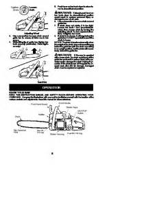 poulan pro pp4620avx chainsaw owners manual 2010