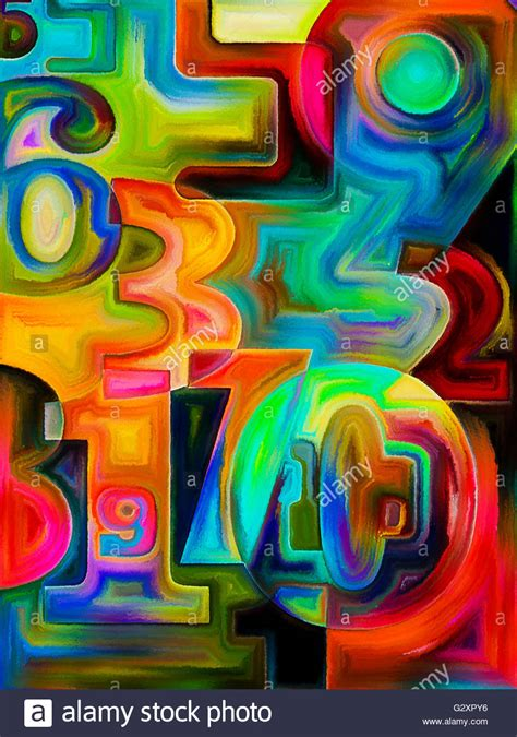 math painting math background design for