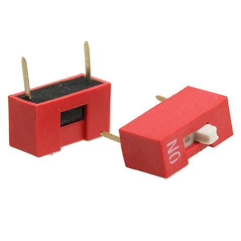 Dip Switch 6 Position 6 Pin Merah 20 pcs 7 62mm pitch 1 position 2 pin dip switch 1p n3