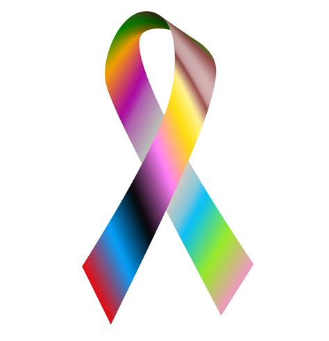 cancer color ribbon cancer ribbon colors images clipart best