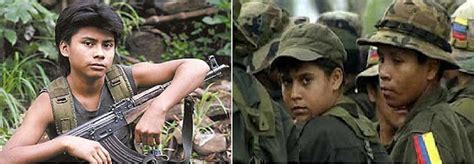 child soldiers abhb524 s blog solymone blog horrific use of child soldiers rising in colombia