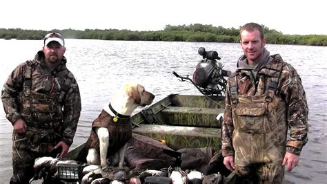duck boat florida florida duck hunting youtube