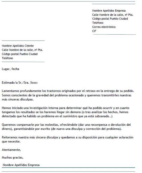 ejemplo carta de disculpa ejemplo de carta de disculpa a un cliente carta de disculpa