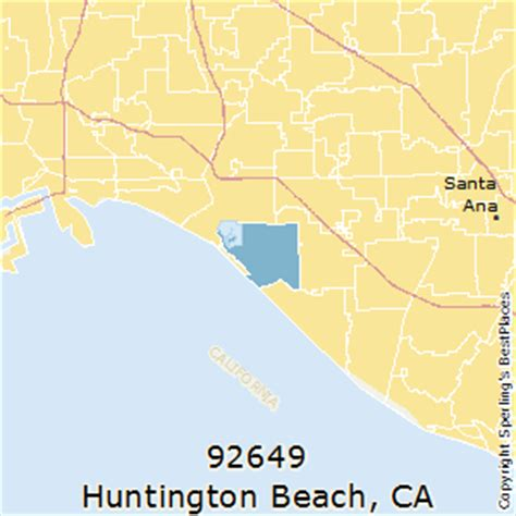 zip code map huntington beach ca best places to live in huntington beach zip 92649