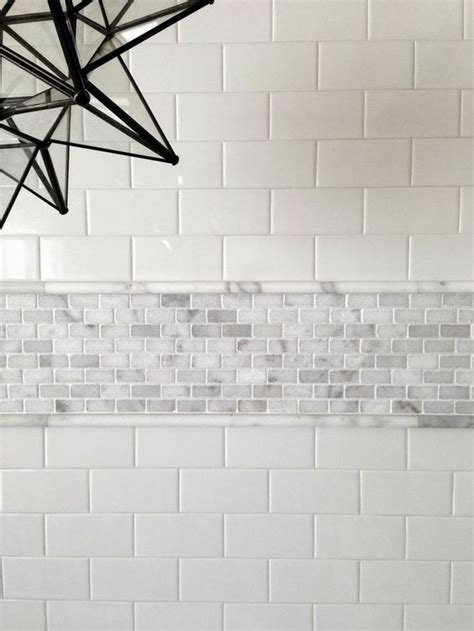 bathroom tile thickness don t be afraid of mixing materials this is carrara with