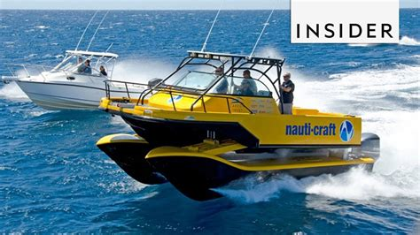 nauti craft boat hydraulic suspension can handle any wave - Boat With Suspension