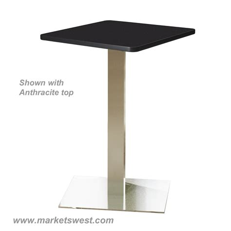 Bistro Table Bar Height Square Top 30 Quot
