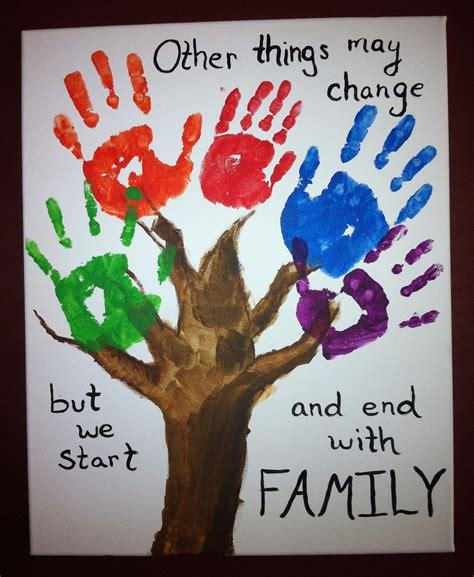 3 handprints tree handprints cr8tive