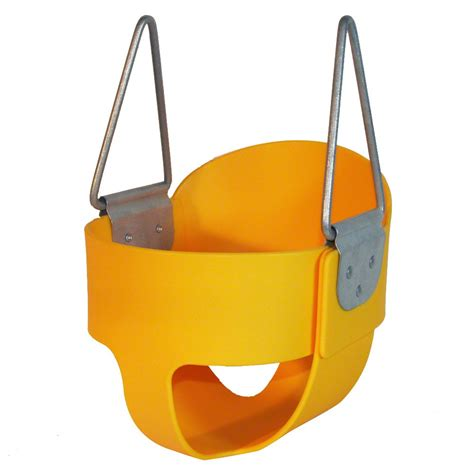 full bucket toddler swing kidwise full bucket swing without chain multiple colors