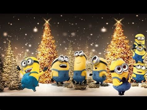 minions singing jingle bells merry christmas  hd  subtitles amara