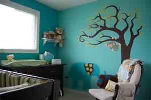 Nursery Decor Toronto Teal Elephant Nursery Contemporary Toronto By Decked Out Spaces