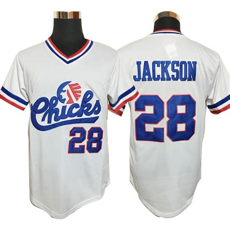 aliexpress jerseys baseball baseball jersey 28 bo jackson chicks baseball jersey