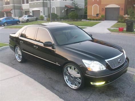 lexus ls430 rims 2004 lexus ls 430 on 22 quot rims club lexus forums