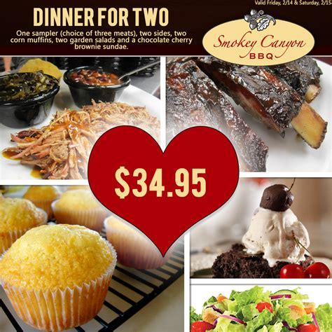 dinner for s day valentines day 2015 dinner for 2 smokey