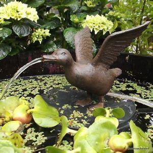 Bilder Gartenteichen 1495 by Wasserspeier Ente Inkl Pumpe Miniteich Teich Vogel Garten