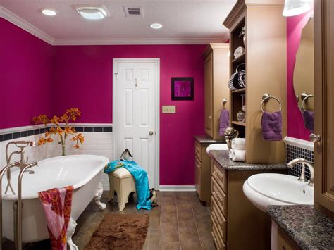 colorful bathrooms from hgtv fans bathroom ideas bold bathroom colors that make a statement hgtv s