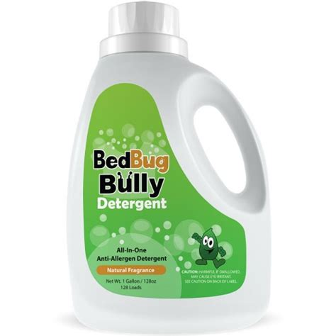 bed bug bully dust mite bed bug anti allergen detergent 1 gallon