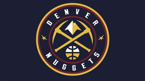 denver nuggets colors denver nuggets reveal new logo colors during nba