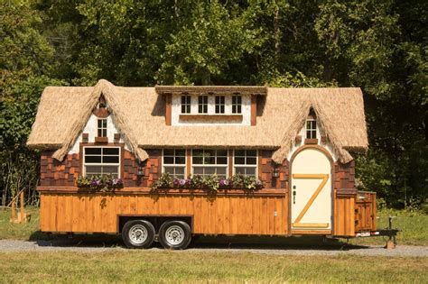 incredible tiny homes the highland tiny house on wheels 10ft width makes big