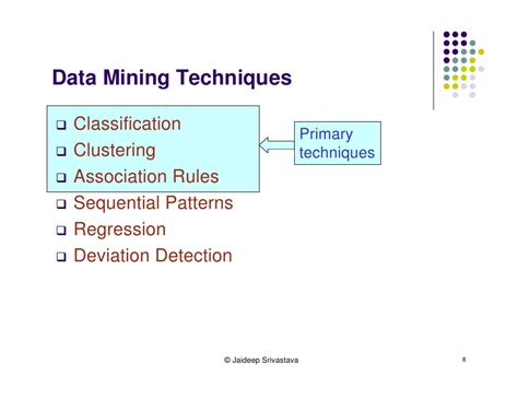 pattern classification techniques in data mining web mining tutorial