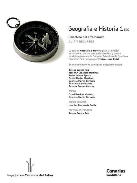 geografia i historia serie libro profesor geograf 237 a pdf