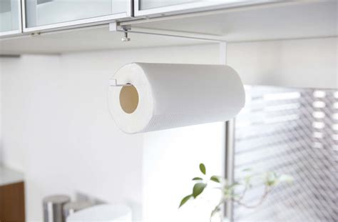 over the cabinet paper towel holder 5 favorites the no drill instant paper towel holder