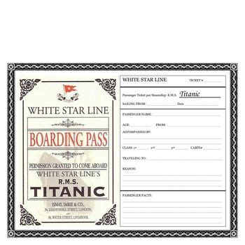 printable titanic boarding pass template titanic boarding pass activity free file in preview