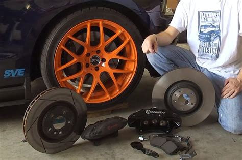 Ford Racing M-2300-T Mustang Brake Install M 2300 T