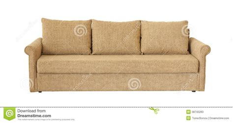 light brown couch light brown sofa isolated on white stock photos image