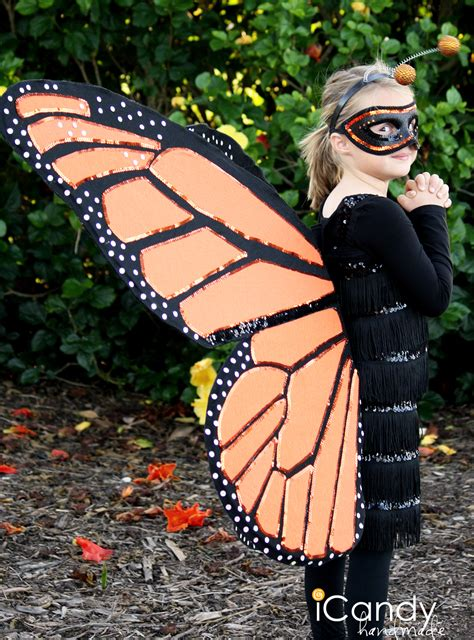 Handmade Butterfly Costume - diy monarch butterfly costume icandy handmade