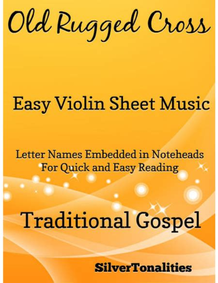 the rugged cross sheet violin rugged cross easy violin sheet sheet