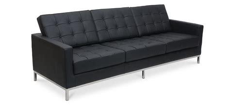 divani knoll divano florence knoll 3 posti pelle