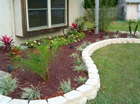 flower beds around house retaining wall design wood landscape design