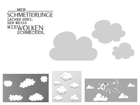 Wandtattoo Kinderzimmer Wolken by Wandtattoo Wolken W 246 Lkchen
