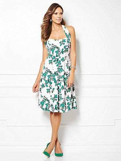Bridesmaid Dresses New York And Company - mendes collection beatriz halter dress print