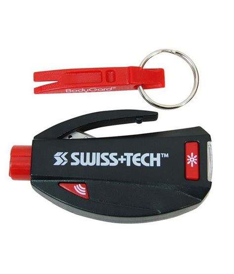 Swiss Tech Bodyguard Multifunction Tool 4 In 1 swiss tech bodyguard esc 5 in 1 buy swiss tech bodyguard esc 5 in 1 at low price in