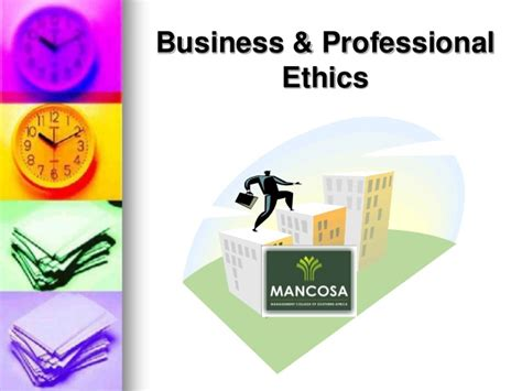 Mba Notes On Business Ethics by Business Professional Ethics