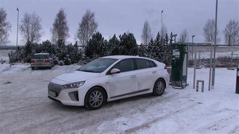 Winter Hyundai by 33 Winter Test Of Hyundai Ioniq Part 1