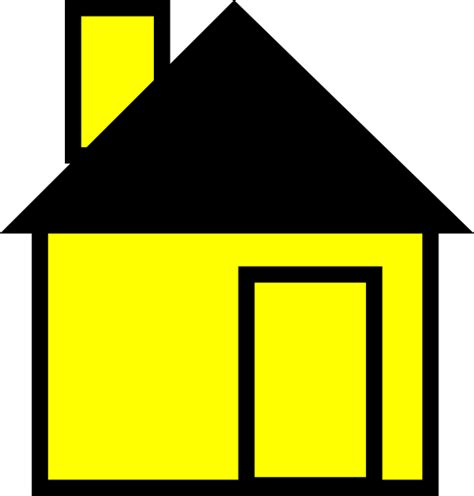 cartoon house clip art at clker com vector clip art simple house yellow clip art at clker com vector clip