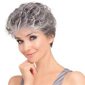 salt and pepper hair wig noelle monofilament wig hairpower collection ellen wille