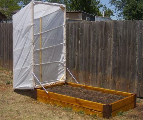 Greenhouse Planter Boxes by Diy Raised Bed Vegetable Garden With Greenhouse Cover