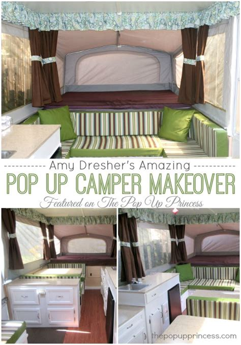 Amy s pop up camper makeover the pop up princess