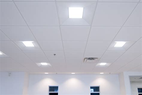led office lighting fixtures for white ceiling interior