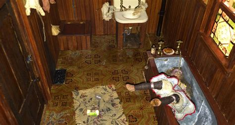 doll house murder gruesome crime scene photos www pixshark com images galleries with a bite
