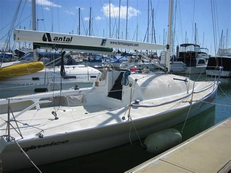 yacht keel used costin canting keel club racing yacht for sale